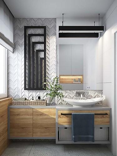 Những mẫu kiến trúc phòng tắm cuốn hút mọi ánh nhìn - Ảnh 11.