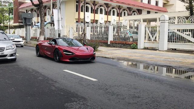 McLaren 720S màu đỏ duy nhất tại Việt Nam ghé chân Đà Nẵng trước khi về tay chủ nhân tại Sài Gòn - Ảnh 5.