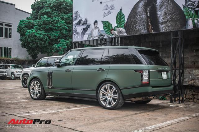 Khám phá Range Rover SVAutobiography LWB chuyên chở khách VIP của ông chủ cafe Trung Nguyên - Ảnh 1.