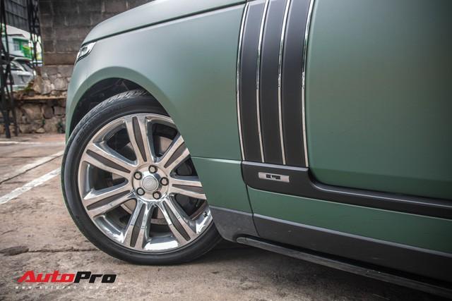 Khám phá Range Rover SVAutobiography LWB chuyên chở khách VIP của ông chủ cafe Trung Nguyên - Ảnh 13.