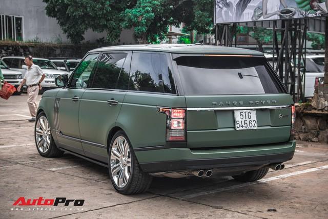 Khám phá Range Rover SVAutobiography LWB chuyên chở khách VIP của ông chủ cafe Trung Nguyên - Ảnh 16.