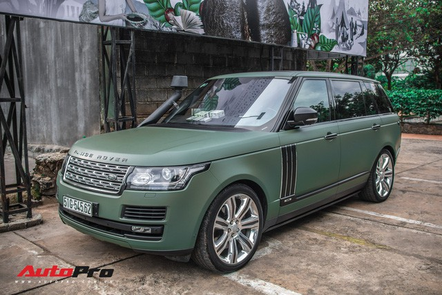 Khám phá Range Rover SVAutobiography LWB chuyên chở khách VIP của ông chủ cafe Trung Nguyên - Ảnh 7.