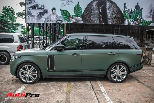 Khám phá Range Rover SVAutobiography LWB chuyên chở khách VIP của ông chủ cafe Trung Nguyên - Ảnh 8.