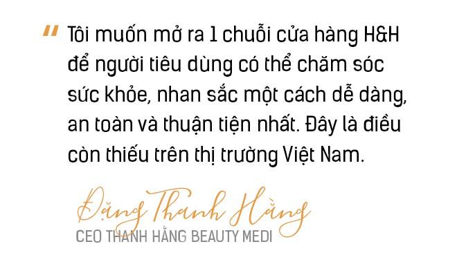 CEO Thanh Hằng Beauty Medi và quyết tâm tạo dựng chuỗi sản phẩm, dịch vụ làm đẹp khép kín dành cho người Việt - Ảnh 5.
