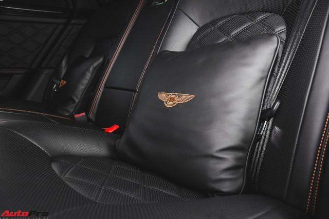 Chạm mặt Bentley Mulsanne bản hiếm, màu độc của đại gia Hà thành - Ảnh 13.
