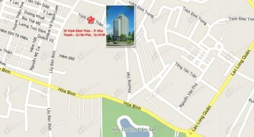 Một chung cư 18 tầng ở TP HCM sắp bị siết nợ - Ảnh 1.