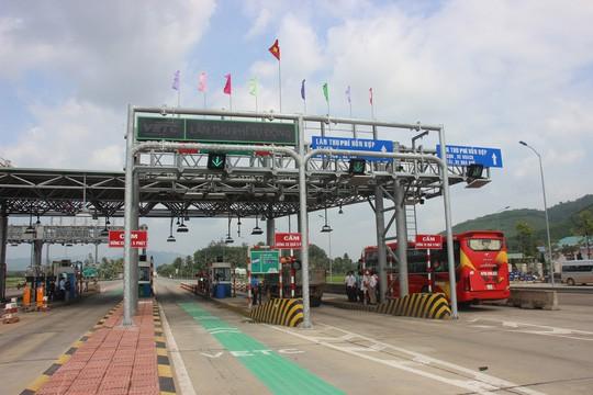 Từ 21 giờ hôm nay, BOT Bắc Bình Định được thu phí trở lại - Ảnh 1.