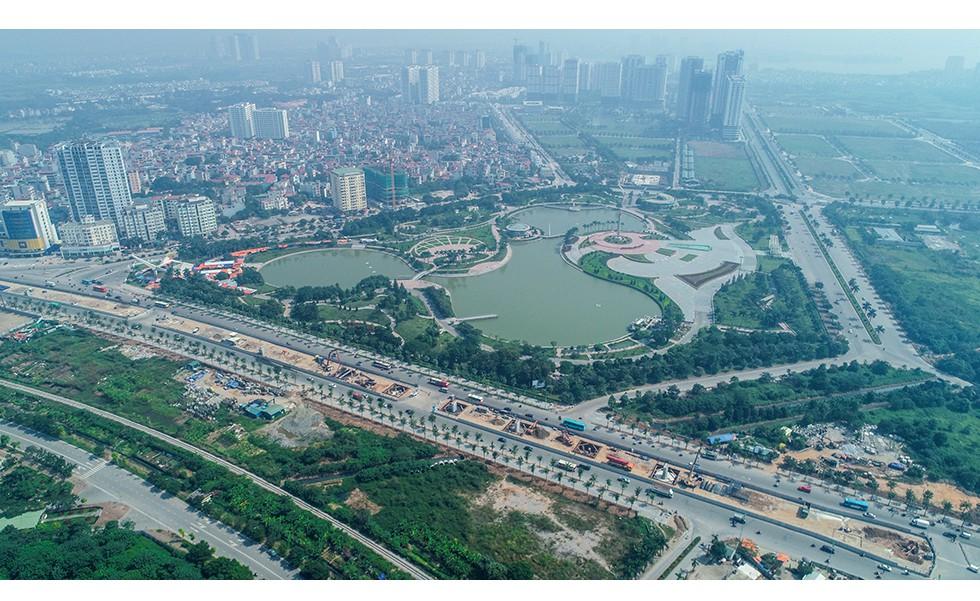 Toàn cảnh tuyến đường 8.500 tỷ đồng đang tác động mạnh mẽ lên thị trường bất động sản phía Bắc thủ đô - Ảnh 4.