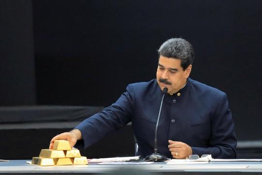 Venezuela tìm cách hồi hương 14 tấn vàng ở Anh - Ảnh 1.