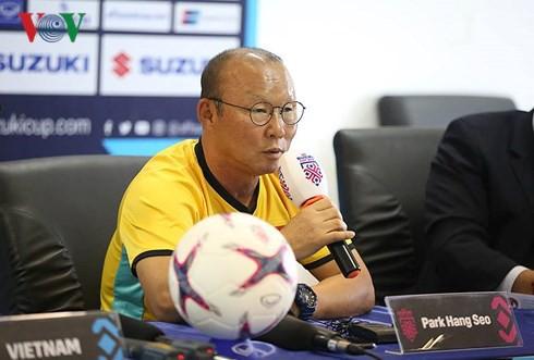 """HLV Park Hang Seo: """"Tôi đã quen với áp lực khi dẫn dắt ĐT Việt Nam"""" - Ảnh 1."""