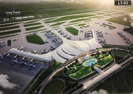 Thu hồi, giải phóng mặt bằng hơn 5.700 ha để xây sân bay Long Thành - Ảnh 1.