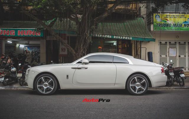 Đại gia Hà Thành phối màu lạ lẫm cho Rolls-Royce Wraith - Ảnh 10.