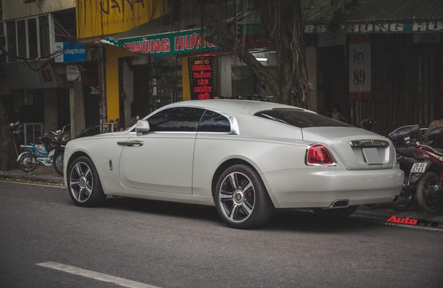Đại gia Hà Thành phối màu lạ lẫm cho Rolls-Royce Wraith - Ảnh 11.