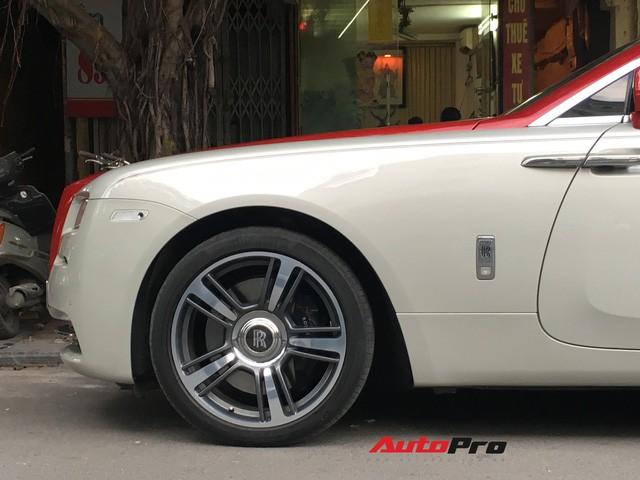 Đại gia Hà Thành phối màu lạ lẫm cho Rolls-Royce Wraith - Ảnh 6.