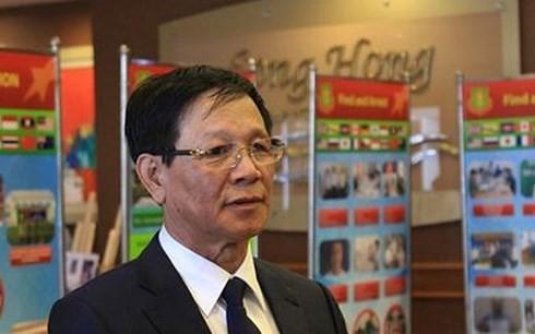 Cựu Trung tướng Phan Văn Vĩnh bất ngờ ngã sưng trán trong bệnh viện - Ảnh 1.
