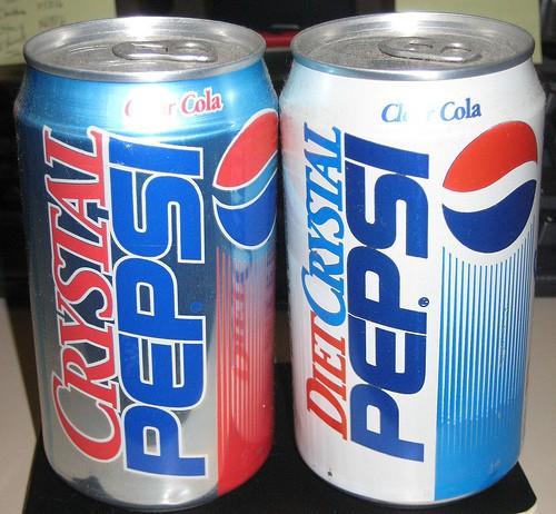 Cố quá thì…quá cố: Tẩy trắng sản phẩm thành đồ uống trong suốt thất bại lần 1, Pepsi vớt vát bằng phiên bản 2 đơn giản hơn nhưng vẫn không tránh được kết cục thảm hại - Ảnh 1.