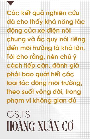 """GS.TS Hoàng Xuân Cơ: Xe điện là xu hướng nhưng chưa có nghiên cứu khẳng định """"xanh"""" hơn xe xăng - Ảnh 5."""