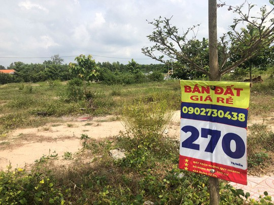 Nở rộ nạn lừa bán đất dự án - Ảnh 1.