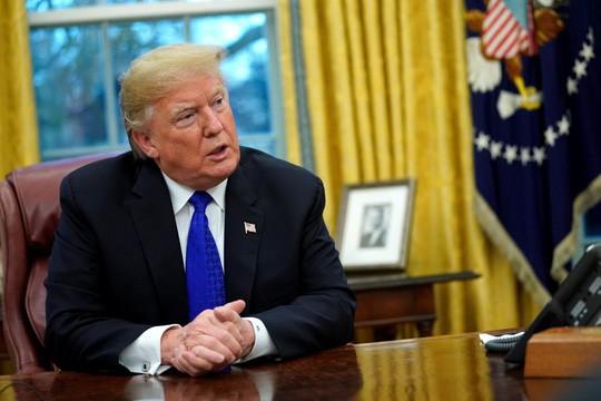 """Ông Trump tuyên bố """"không sợ luận tội"""" - Ảnh 1."""