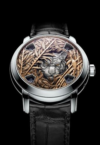 Kỹ thuật chạm khắc chìm nổi sắc nét, ấn tượng trên những mẫu đồng hồ phiên bản độc nhất vô nhị của Vacheron Constantin  - Ảnh 4.
