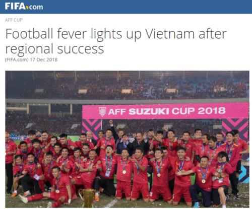 Trang chủ Liên đoàn bóng đá thế giới ngợi ca kỷ nguyên thành công chưa từng có trong lịch sử bóng đá Việt Nam - Ảnh 1.
