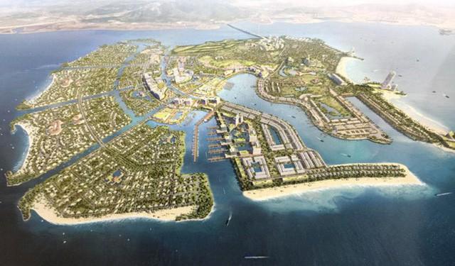 """""""Chúa đảo"""" Đào Hồng Tuyển lại muốn lấn biển mở rộng Khu du lịch Tuần Châu - Ảnh 1."""