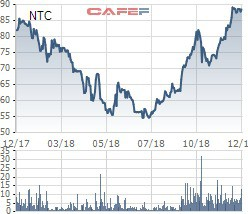 KCN Nam Tân Uyên (NTC) trả cổ tức bằng tiền tỷ lệ 100% - Ảnh 1.