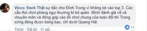 Không danh hiệu cá nhân, Đình Trọng vẫn là người hùng thầm lặng trong tim người hâm mộ - Ảnh 3.