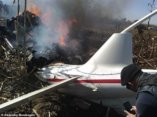 Rơi máy bay, nữ thống đốc của gia đình quyền lực bậc nhất Mexico thiệt mạng - Ảnh 3.