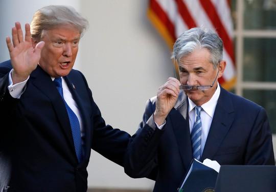 Tổng thống Mỹ đại chiến với FED - Ảnh 1.