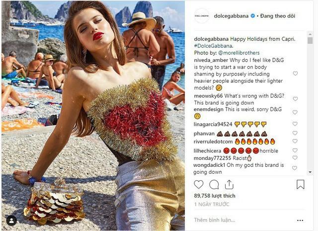 """Dolce & Gabbana tiếp tục """"ăn gạch"""" vì bộ ảnh mới bị cho là phân biệt giàu nghèo, body shaming và để lọt cả đồ Louis Vuitton - Ảnh 11."""