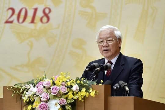Tổng Bí thư, Chủ tịch nước: Không được chủ quan, thỏa mãn trước thành tích - Ảnh 1.
