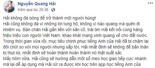 Quang Hải bị nhắc nhở vì mải viết bài quảng cáo kiếm tiền mà lơ là giao lưu với người hâm mộ - Ảnh 3.