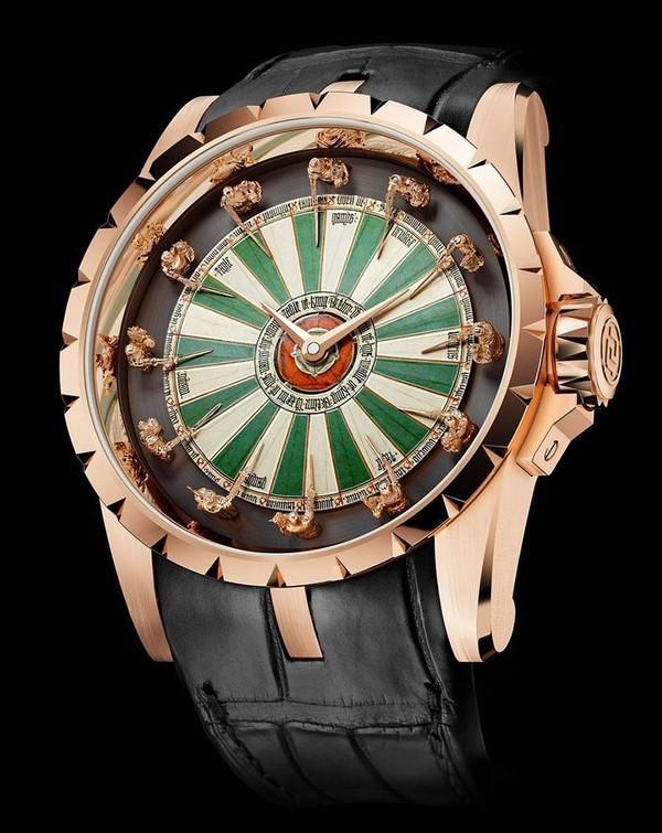 Ngỡ ngàng với 10 thiết kế đồng hồ kỳ lạ nhất Trái Đất, chiếc thứ 5 dành cho người luôn trễ hẹn - Ảnh 13.
