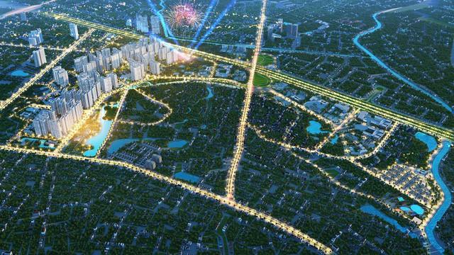 Soi vị trí chính xác đại đô thị VinCity Sportia của Tập đoàn Vingroup trên trục Đại lộ Thăng Long - Ảnh 3.