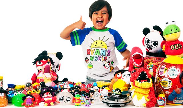 Cậu bé 7 tuổi sở hữu cỗ máy kiếm tiền khủng nhất YouTube: Thu về 22 triệu USD dễ như chơi đồ chơi! - Ảnh 1.