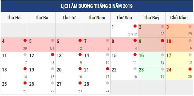 Dịp Tết dương lịch và Tết âm lịch 2019 người lao động được nghỉ mấy ngày? - Ảnh 1.