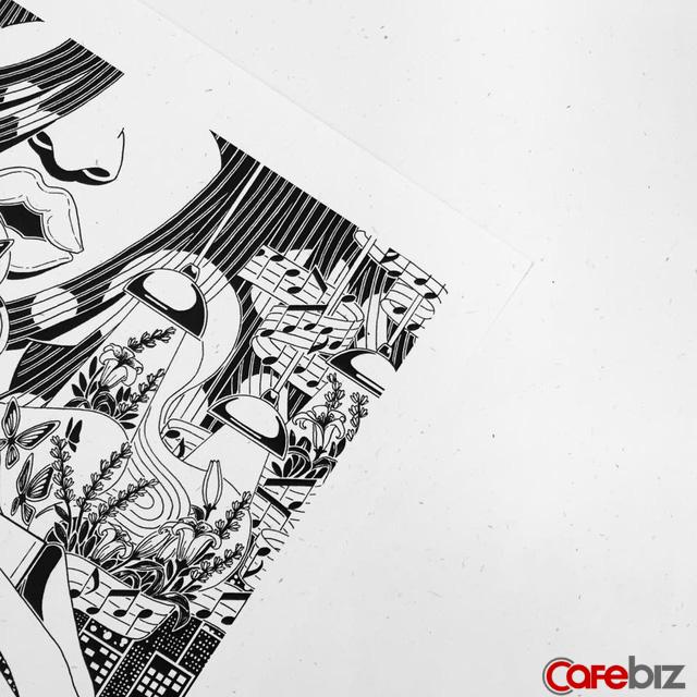 Monosketch: Startup thương mại hóa tác phẩm của họa sĩ trẻ Việt lên sổ tay, tranh treo tường, bưu thiếp... - Ảnh 1.
