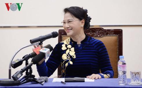 Chủ tịch Quốc hội nhận bằng tiến sĩ danh dự chính trị học của Hàn Quốc - Ảnh 2.