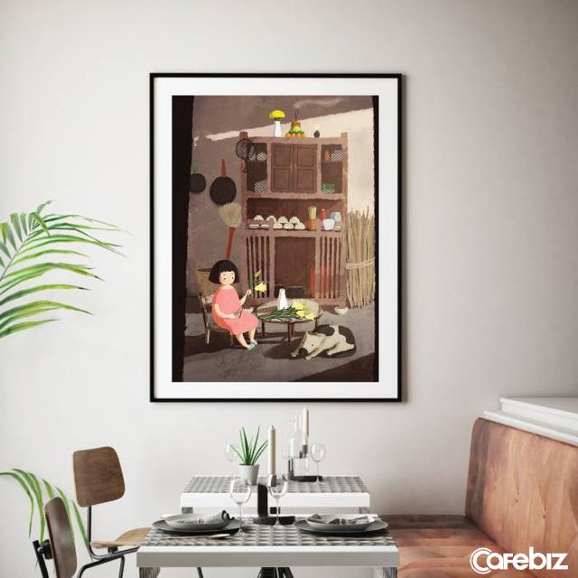 Monosketch: Startup thương mại hóa tác phẩm của họa sĩ trẻ Việt lên sổ tay, tranh treo tường, bưu thiếp... - Ảnh 5.
