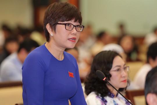 Trả lời thảo luận chung chung, Giám đốc Sở GTVT TP HCM bị chất vấn - Ảnh 1.