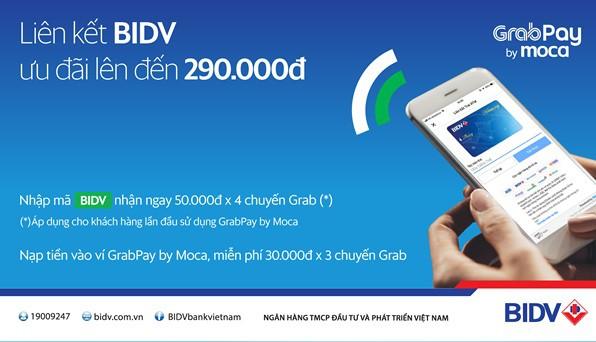 Nhận ngay mã giảm 50.000 đồng khi đi Grab bằng tài khoản BIDV  - Ảnh 1.