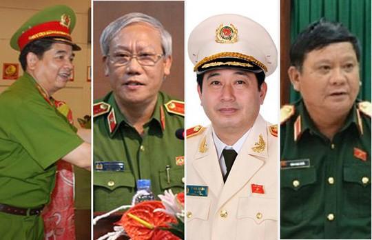 2 trung tướng, 2 thiếu tướng bị kỷ luật cảnh cáo - Ảnh 2.