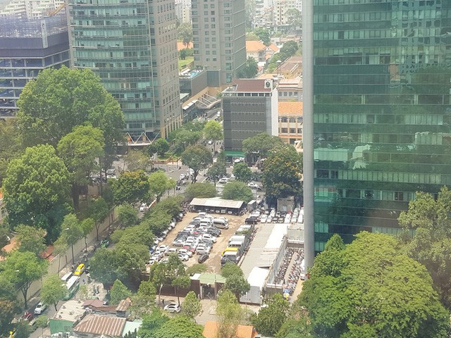 Toàn cảnh nhìn từ trên cao khu đất vàng ngay trung tâm Sài Gòn liên quan đến cựu Phó chủ tịch UBND TP.HCM Nguyễn Thành Tài - Ảnh 10.