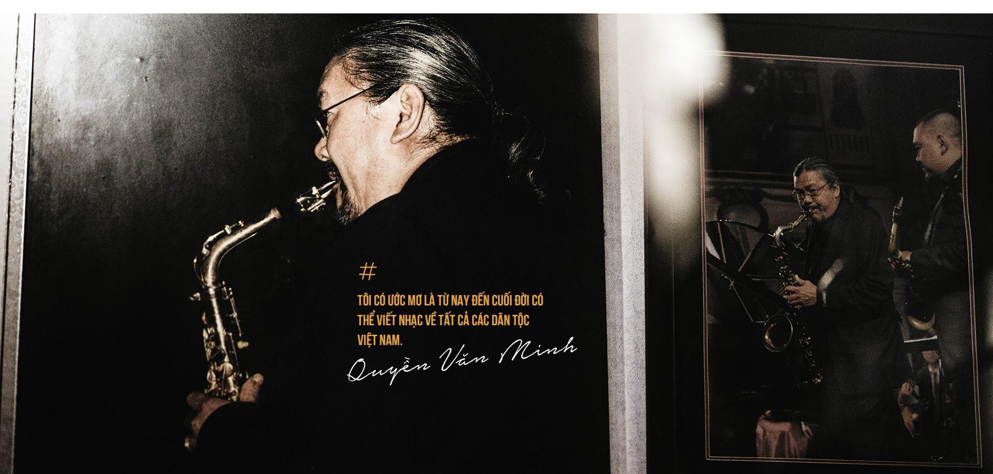 """Saxophone Quyền Văn Minh: Từ cậu thiếu niên học Jazz bằng băng cassette đến """"Huyền thoại sống Jazz Việt Nam"""" - Ảnh 13."""