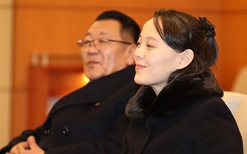 Tổng thống Hàn Quốc dùng bữa trưa với em gái nhà lãnh đạo Triều Tiên - Ảnh 1.