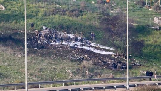 Chiến đấu cơ Israel bị Syria bắn hạ - Ảnh 1.