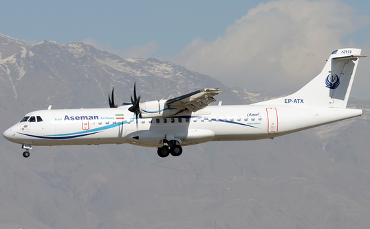 Iran: Máy bay chở 66 người đâm vào núi - Ảnh 1.