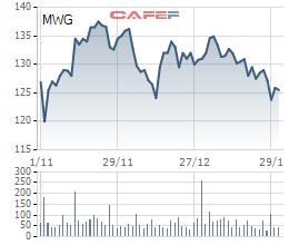 Điều gì tạo nên cú tăng trần bất ngờ của cổ phiếu Thế giới di động trong phiên giao dịch ngày 01/02? - Ảnh 1.