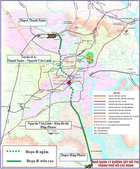 TP.HCM chấp thuận cho Ngân hàng XNK Hàn Quốc đầu tư dự án đường sắt đô thị metro số 4 - Ảnh 1.